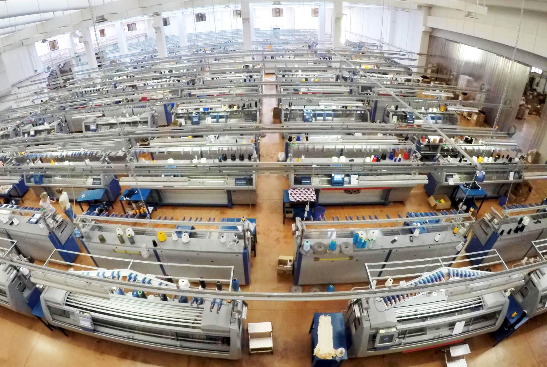 Panoramica impianto produttivo Tonello