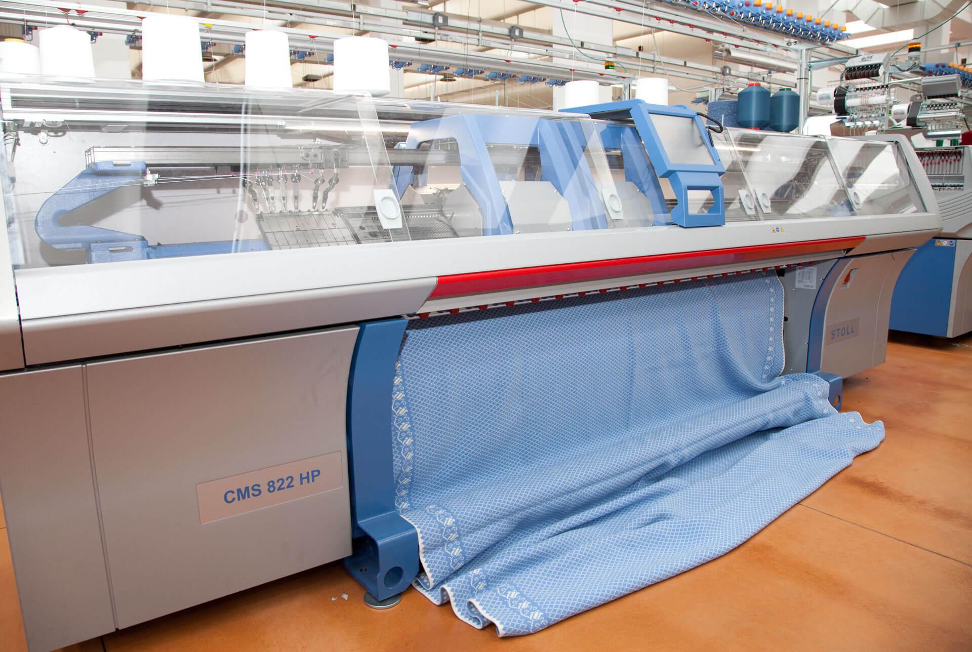 CMS 822 in produzione