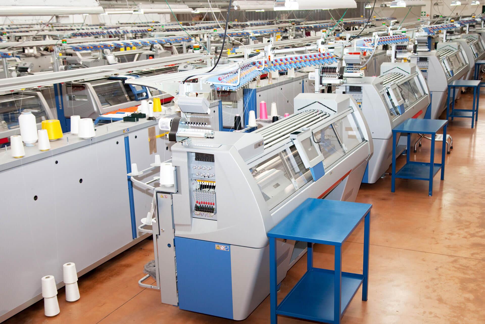 Area macchinari Tonello